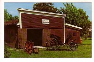 Jesse Hover, Blacksmith Shop, Herbert Hoover Presidential Library, West Branc...