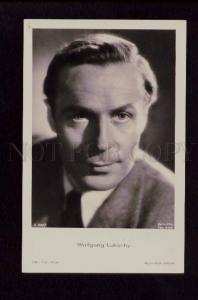 074258 WOLFGANG LUKSCHY German Movie Star WRITER vintage PHOTO