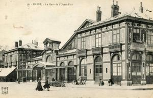 France - Brest, 1930. West Railway Station
