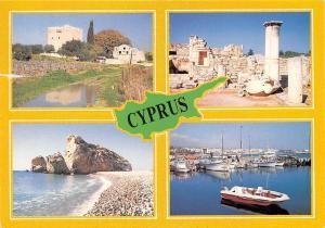 Cyprus Harbour Boats Bateaux Port Ruins Tarveiset Kyprokselta