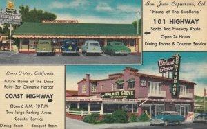 SAN JUAN CAPISTRANO , California , 1930-40s; Walnut Grove Restaurant