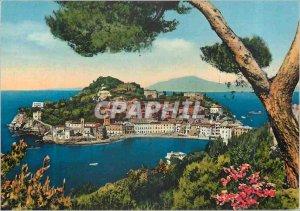 Postcard Modern Sestri Levante Peninsula