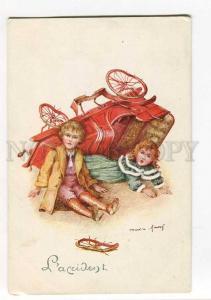 270157 MARTIN-KAVEL accident broken CAR Vintage russian Lapin