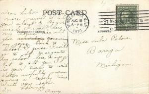 Stillwater Minnesota 1911 Postcard Main Prison Gate Jailers
