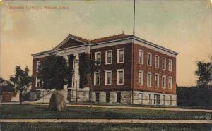 Ohio Akron Butchel College 1910