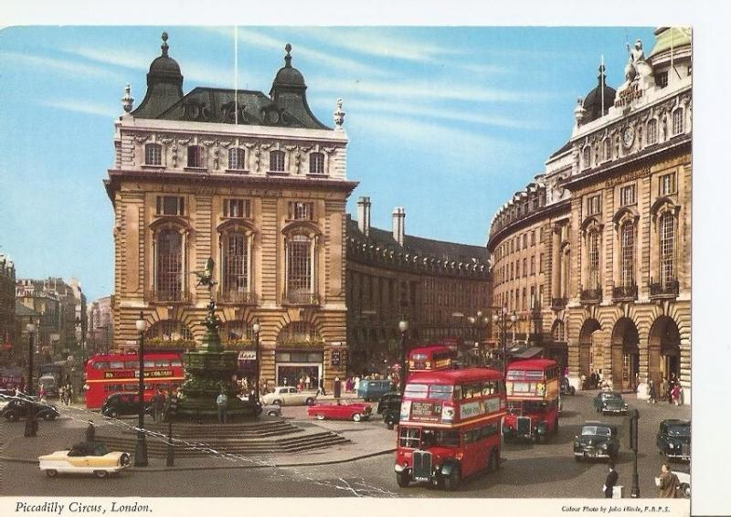 Postal 028580 : Piccadilly Circus, London