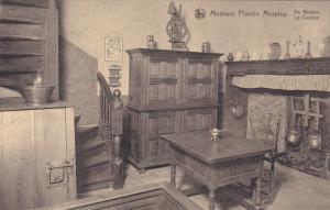 ANVERS, Belgium, 1900-1910´s; Museum Plantin Moretus, La Cuisine