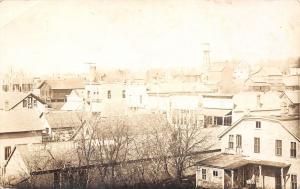 Evansville Minnesota~Downtown~Grain Elevator~Water Tower~Back Porch~1913 RPPC