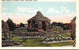 Connecticut Hartford Elizabeth Park Rose Garden