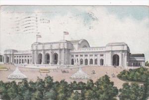 Washington D C Union Station 1909