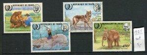 265135 NIGER 1985 KIPLING KESSEL MELVILL LONDON lion wolf