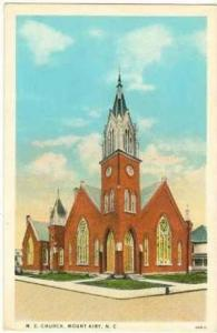M. E. Church, Mount Airy, North Carolina,00-10s