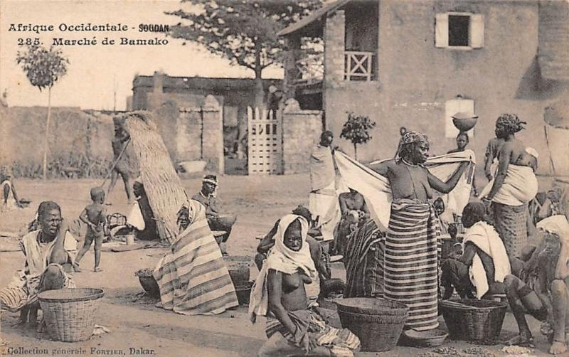 Mali Soudan, Marche de Bamako, Native People