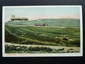 Wales LLANDUDNO Great Orme TELEGRAPH HOTEL & TRAM c1906 Postcard by P.S.Co. Ltd.