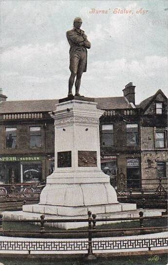 Scotland Ayr Burns Statue