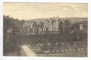 Abbotsford House from the Gardens, UK 20-40s