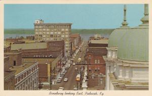 PADUCAH , Kentucky , 40-60s; Broadway looking East