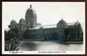 h2136 - AUSTRALIA Melbourne 1950s Exhibition Building. Real Photo Postcard