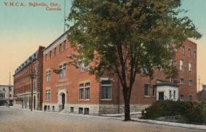 BELLEVILE , Ontario , 1900-10s ; Y.M.C.A.
