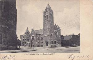 Exterior,  The First Methodist Church,  Rochester,  New York,   00-10s