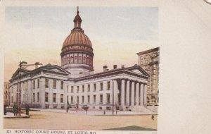ST. LOUIS, Missouri, 1900-1910's; Historic Court House