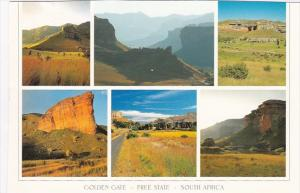South Africa Golden Gate Sandstone Formations Multi View