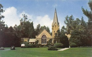 Cemetaries Cemetery Post Card Little Church of the Flowers, Forest Memorial P...
