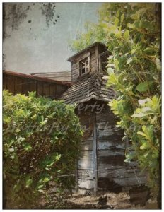 Handmade Postcard with Fine Art Photography The Forgotten Memory