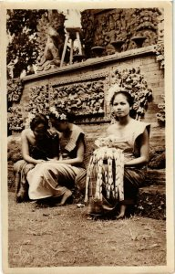 CPA AK INDOCHINA Real Photo on Postcard VIETNAM (956427)