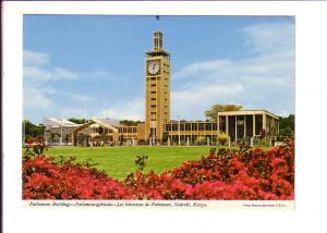 Parliament Buildings with Clock Tower, Nairobi, Kenya, Photo John Hinde