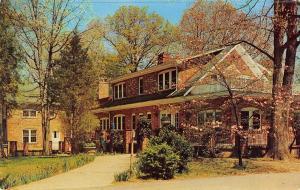Bethesda Maryland Rockwood Girl Scout Camp Manor House Vintage Postcard (J30753)