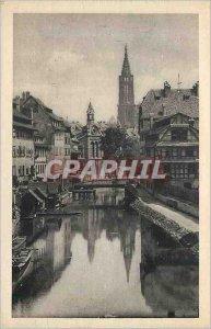 Postcard Old Strasbourg Petite France
