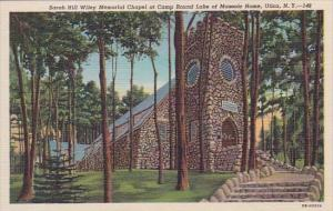 Sarah Hill Wiley Memorial Chapel At Camp Round Lake Of Masonic Home Utica New...