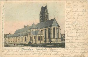 Germany 1901 Ravensburg Frauenkirche