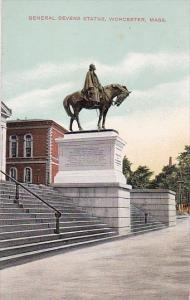 General Devens Statue Worcester Massachusetts
