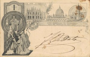 Italy - Anno Saeculari VII 1198/1898 SS TRINITATIS  04.38