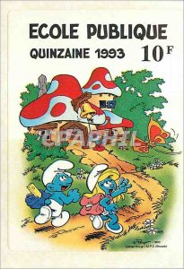 Public School Sticker Fortnight 1993 Smurfs