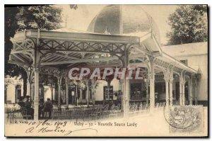 Old Postcard Vichy New Source Lardy