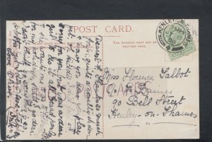 Genealogy Postcard- Talbot / Dr Baines - 90 Bell Street, Henley-On-Thames RF5296