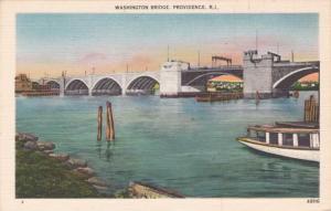 Washington Bridge - Providence RI, Rhode Island - Linen