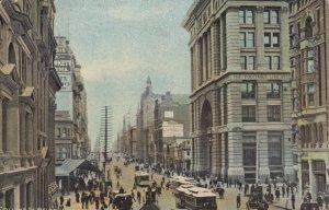 MELBOURNE , Australia , 1906 ; Collins Street , Looking West