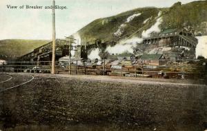 PA - Anthracite Region. Coal Breaker  (Mining)