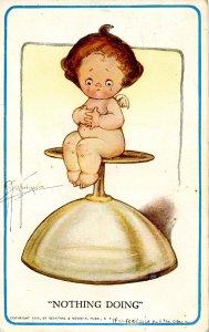 Nothing Doing    Child     Artist: G. G. Wiederseim