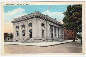 Fitchburg, Mass, Post Office