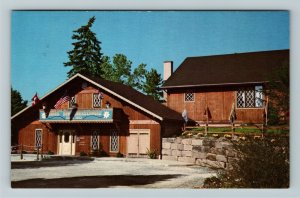 Sugar Creek OH- Ohio, Broad Run Cheese House, Advertising, Chrome Postcard