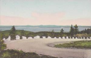 Maine Bar Harbor Cadillac Mountain Road Acadia National Park Albertype
