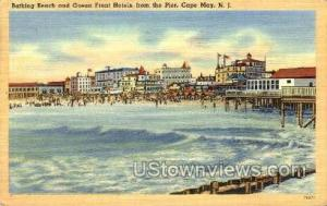 Bathing Beach  Cape May NJ 1948