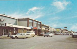 FORT ST. JOHN, British Columbia, Canada, 40-60s; Centre Avenue, Classic Cars