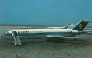 SAUDI Arabian AirlinesBoeing 727-2H3 Jet Airplane , 60-70s