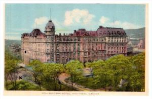 Montreal  Windsor Hotel